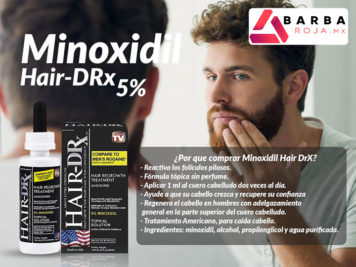minoxidil hair drx