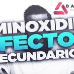 minoxidil efectos secundarios